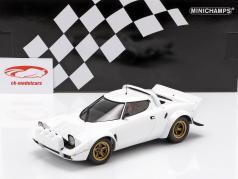 Lancia Stratos ano de construção 1974 branco 1:18 Minichamps