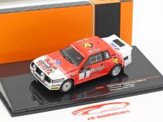Toyota Celica TwinCam Turbo #1 Haspengouw Rallye 1985 Kankkunen, Gallagher 1:43 Ixo
