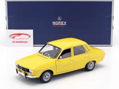 Renault 12 TS ano de construção 1973 amarelo 1:18 Norev