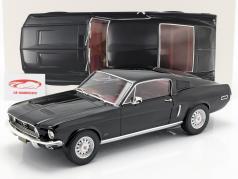 Ford Mustang Fastback Baujahr 1968 schwarz 1:12 Norev