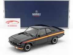 Opel Manta GT/E Black Magic ano de construção 1975 preto 1:18 Norev