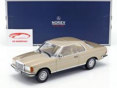 Mercedes-Benz 280 CE (W123) year 1980 champagne metallic 1:18 Norev