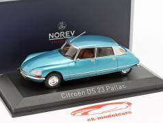 Citroen DS23 Pallas ano de construção 1974 delta azul metálico 1:43 Norev