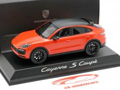 Porsche Cayenne S Coupe Baujahr 2019 orange 1:43 Norev