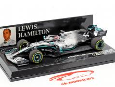 L. Hamilton Mercedes-AMG F1 W10 EQ #44 formula 1 world champion 2019 1:43 Minichamps