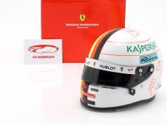 Sebastian Vettel Ferrari SF90 #5 formule 1 2019 casque 1:2 Arai