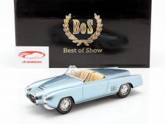 Lancia Aurelia PF 200 C Spider ano de construção 1953 luz azul metálico 1:18 BoS-Models
