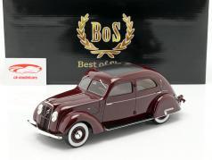 Volvo PV36 Carioca ano de construção 1935 roxo 1:18 BoS-Models