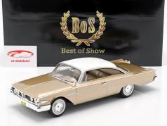 Edsel Ranger Hardtop ano de construção 1960 ouro / branco 1:18 BoS-Models