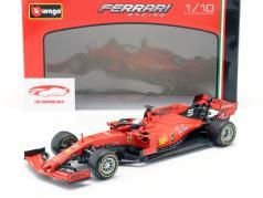 Sebastian Vettel Ferrari SF90 #5 fórmula 1 2019 1:18 Bburago
