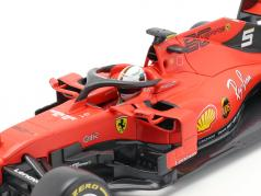 Sebastian Vettel Ferrari SF90 #5 公式 1 2019 1:18 Bburago