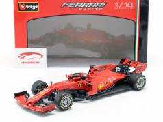Charles Leclerc Ferrari SF90 #16 fórmula 1 2019 1:18 Bburago