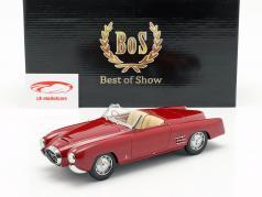 Lancia Aurelia PF 200 C Spider Baujahr 1953 rot 1:18 BoS-Models