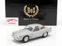 Porsche Glöckler Coupe Baujahr 1954 silber 1:18 BoS-Models