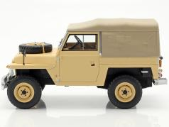 LAND Rover Lightweight Series IIA 1968 RHD soft top 1:18 Bos />/> NEW /</< beige
