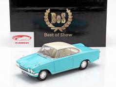 Ford Consul Capri 116E GT RHD Baujahr 1963 türkis / weiß 1:18 BoS-Models