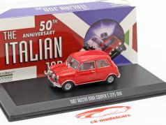 Austin Mini Cooper S 1275 MK1 1967 Film The Italian Job (1969) rot 1:43 Greenlight