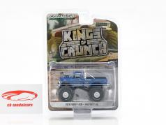 Ford F-250 Monster Truck Bigfoot #1 year 1974 blue 1:64 Greenlight
