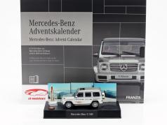 Mercedes-Benz 出现日历 2019: Mercedes-Benz G级 1:43 Franzis