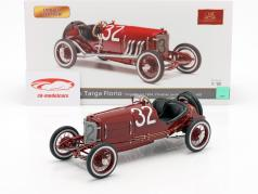 Mercedes #32 2 ° Targa Florio 1924 Lautenschläger, Traub 1:18 CMC