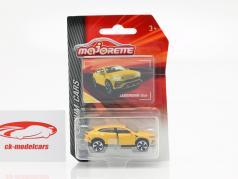 Lamborghini Urus yellow 1:64 Majorette