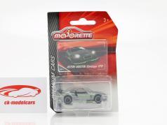 Aston Martin Vantage GT8 silver / green 1:64 Majorette