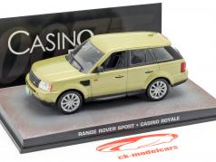 Range Rover Sport Car James Bond movie Casino Royale gold 1:43 Ixo
