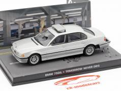 BMW 750iL auto van James Bond-film Tomorrow Never Dies 1:43 Ixo grijs
