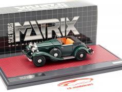 Stutz DV32 Super Bearcat ouvert année de construction 1932 vert foncé 1:43 Matrix