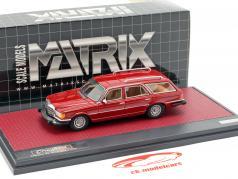 Mercedes-Benz Crayford (W116) 450SE Estate ano de construção 1977 vermelho 1:43 Matrix