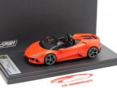 Lamborghini Huracan Evo Spyder laranja 1:43 LookSmart