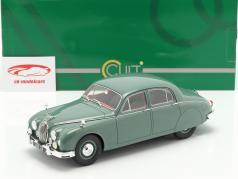 Jaguar 2.4 MKI ano de construção 1955 verde 1:18 Cult Scale