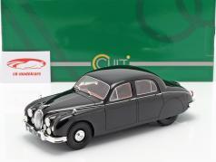 Jaguar 2.4 MKI ano de construção 1955 preto 1:18 Cult Scale