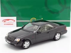 Mercedes-Benz 600 SEC C140 Construction year 1992 black 1:18 Cult Scale