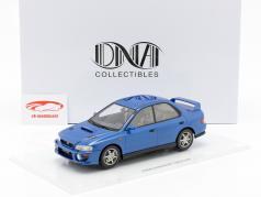 Subaru Impreza GT Turbo 2000 azul 1:18 DNA Collectibles