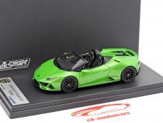 Lamborghini Huracan Evo Spyder verde 1:43 LookSmart