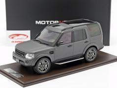 Land Rover Discovery IV year 2016 gray 1:18 MotorHelix