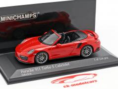 Porsche 911 (991.2) Turbo S Cabriolet year 2016 1:43 Minichamps