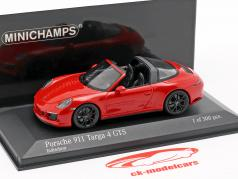 Porsche 911 (991.2) Targa 4 GTS year 2016 red 1:43 Minichamps