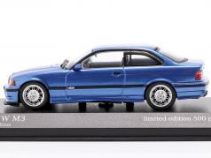 BMW M3 (E36) year 1992 estoril blue metallic 1:43 Minichamps