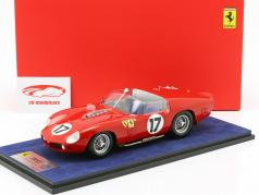 Ferrari 250 TRI/61 #17 24h LeMans 1961 P. Rodriguez, R. Rodriguez avec vitrine 1:18 LookSmart