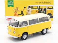 Volkswagen VW T2 Bus 1978 Film Little Miss Sunshine (2006) gelb 1:18 Greenlight