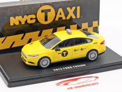 Ford Fusion NYC Taxi Baujahr 2013 gelb 1:43 Greenlight