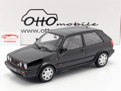 Volkswagen VW Golf GTI Mk2 16V ano de construção 1989 preto 1:12 OttOmobile