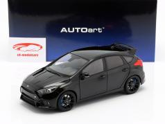 Ford Focus RS year 2016 shadow black 1:18 AUTOart