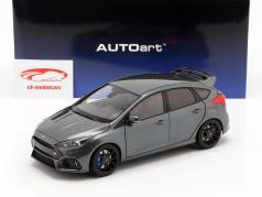 Ford Focus RS Baujahr 2016 stealth grau 1:18 AUTOart