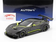 Aston Martin Vulcan ano de construção 2015 esteira preto / cal verde 1:18 AUTOart