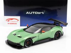 Aston Martin Vulcan année de construction 2015 pomme arbre vert métallique 1:18 AUTOart
