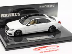 Maybach Brabus 900 based on Mercedes-Benz Maybach S600 2016 white 1:43 Minichamps