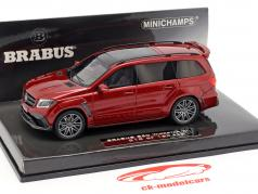 Brabus 850 Widestar XL auf Basis AMG GLS 63 2017 rot metallic 1:43 Minichamps